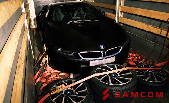 Красавица BMW приехала домой