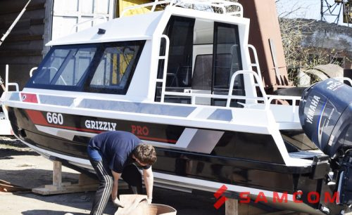 Доставка катера в Казахстан