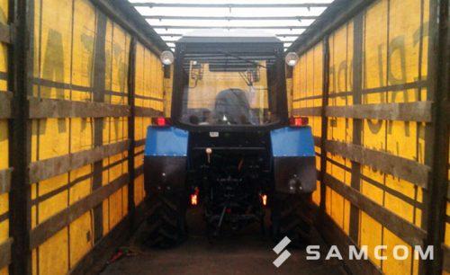 Доставка трактора по России