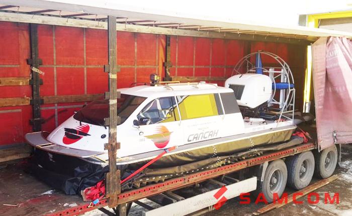 Доставка катера автотранспортом - быстро, выгодно, безопасно