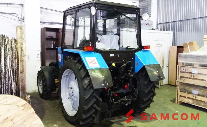 Перевозка трактора из Ярославля в Байконур