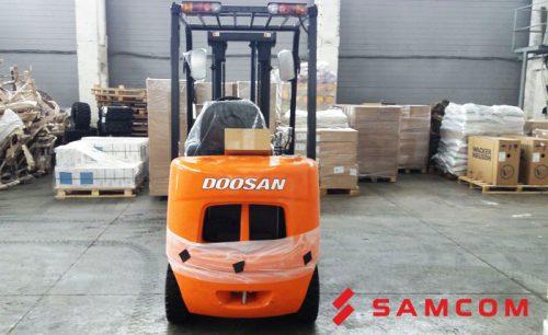 Перевозка погрузчика DOOSAN D20SC-5 из Реутова в Самару