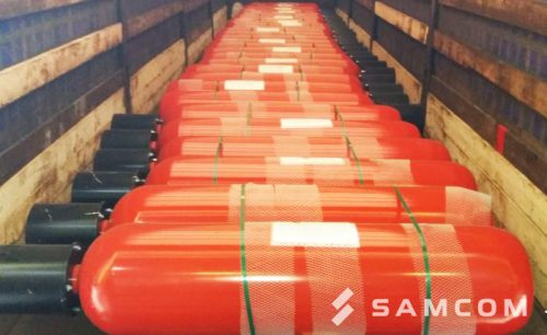 Перевозка модулей газового пожаротушения из Санкт-Петербурга в Шымкент