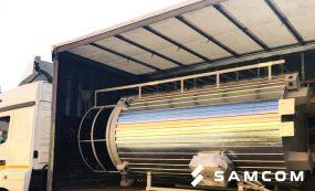 Перевозка оборудования промышленного масштаба