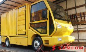 Перевозка электромобиля из России в Казахстан